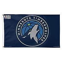 WinCraft Minnesota Timberwolves New Logo Flag [並行輸入品]