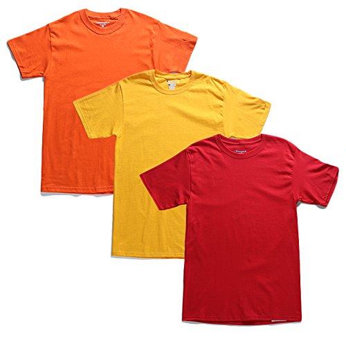 1da12f68dbe553 【T4250】 Tシャツ CHAMPION チャンピオン 半袖 ビッグシルエット USAモデル 無地 ワンポイントロゴ