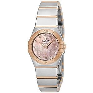 [オメガ]OMEGA 腕時計 コンステレーション ライトコーラルパール文字盤 123.20.24.60.57.003 レディース 【並行輸入品】