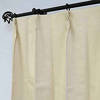 一級遮光・遮音・遮熱 特価カーテン (100X135cm 二枚組, ピンク)