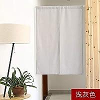 和風カーテン,ベッド 布の半分のカーテン,カーテン,カーテンをカバーします。, キッチン トイレ 装飾 仕切り幕-H 85*90cm