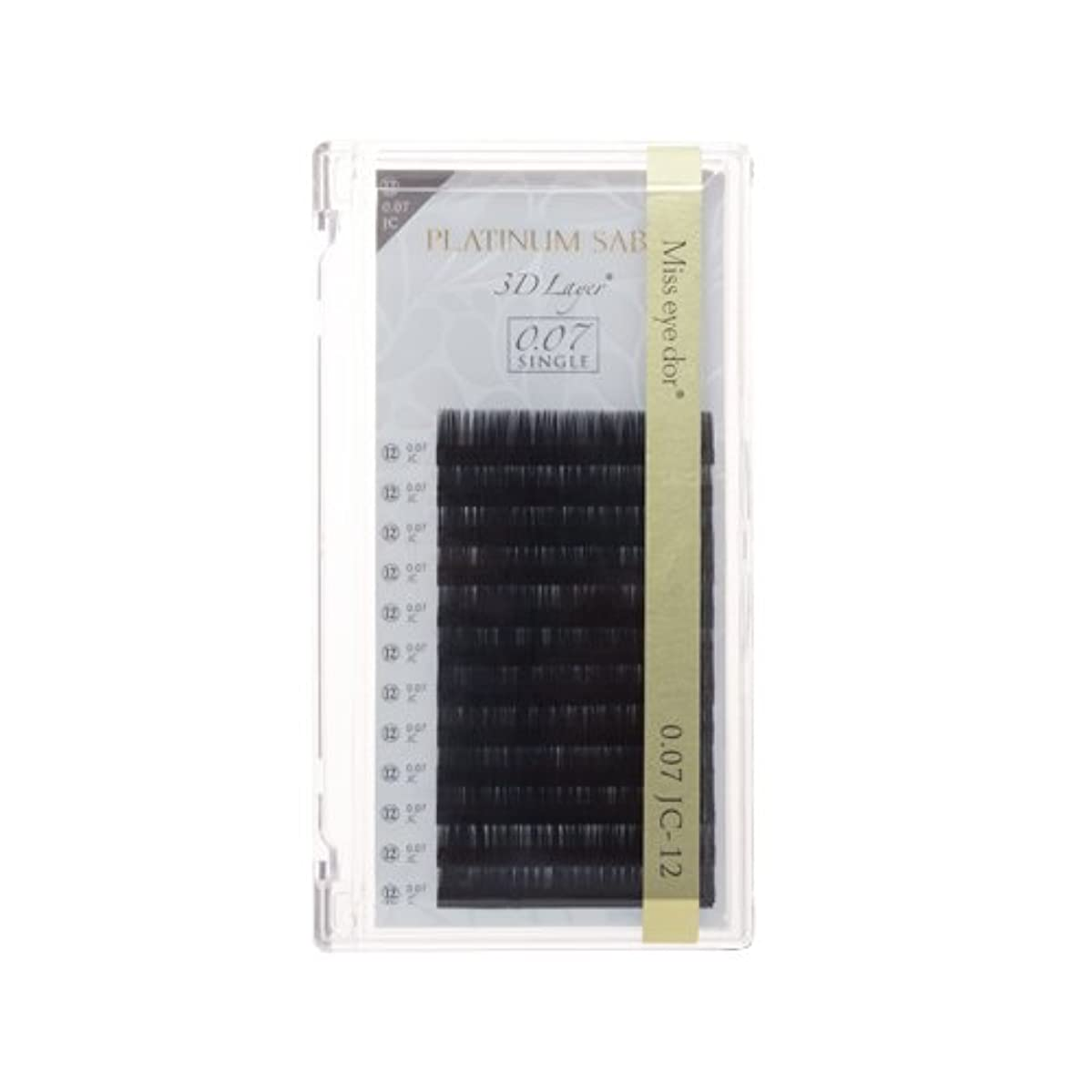 歯痛コミュニティ耐久プラチナセーブル 0.07mm JCカール 11mm