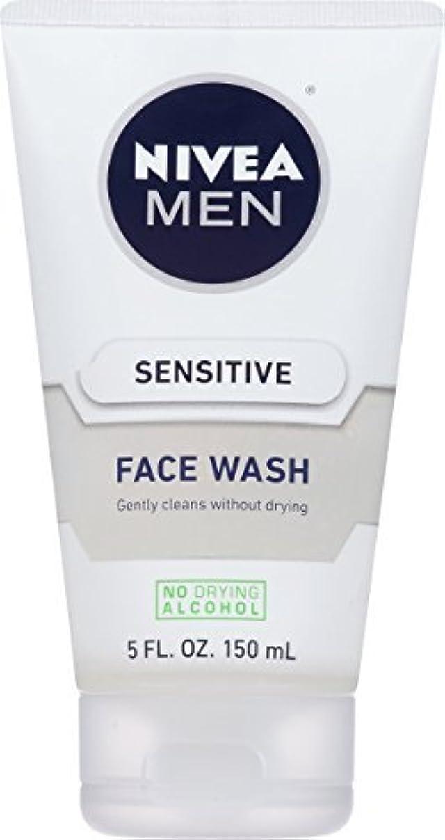 死傷者どこリマNIVEA Men Sensitive Face Wash 5 Fluid Ounce [並行輸入品]