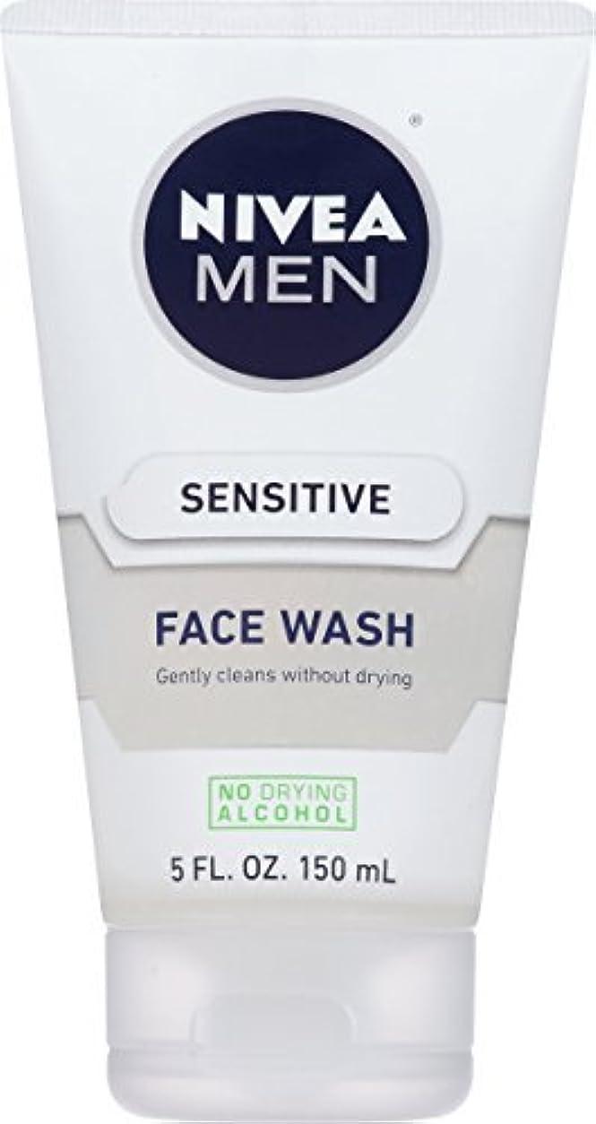 校長一口シーフードNIVEA Men Sensitive Face Wash 5 Fluid Ounce [並行輸入品]