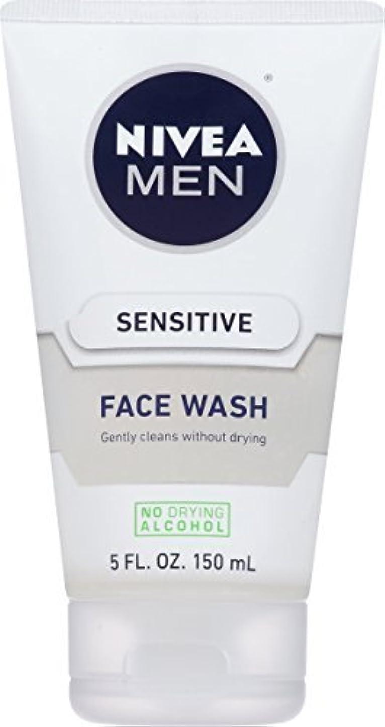 ジョグ気晴らし全国NIVEA Men Sensitive Face Wash 5 Fluid Ounce [並行輸入品]