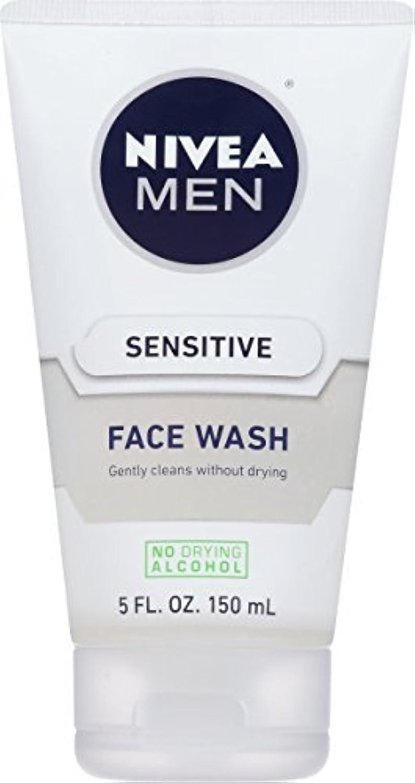 落ち着いてメドレー提案NIVEA Men Sensitive Face Wash 5 Fluid Ounce [並行輸入品]
