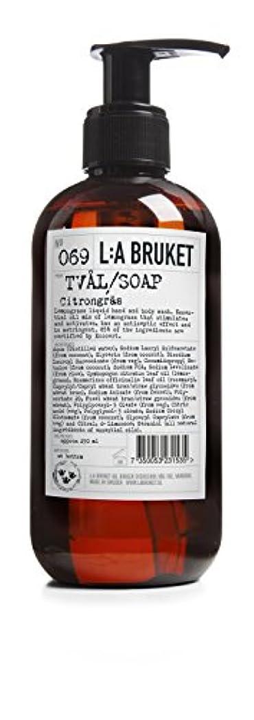 ラベ修士号アシュリータファーマンL:a Bruket (ラ ブルケット) ハンド&ボディウォッシュ (レモングラス) 250g