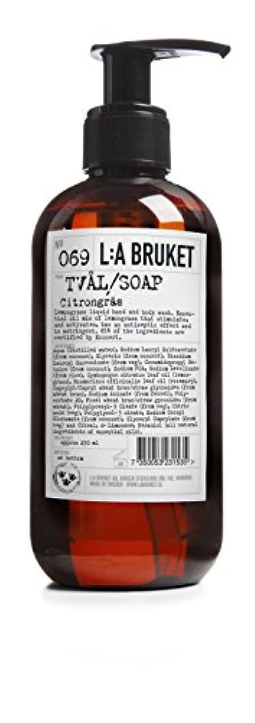 身元地域船形L:a Bruket (ラ ブルケット) ハンド&ボディウォッシュ (レモングラス) 250g