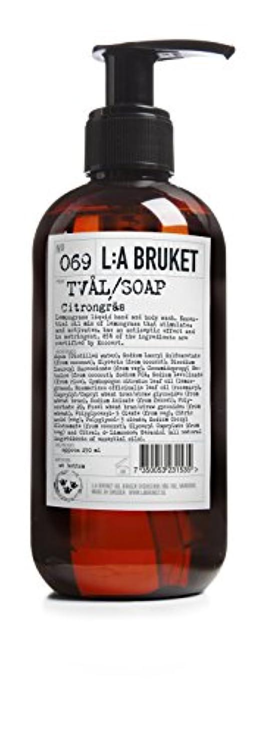 雰囲気道顕現L:a Bruket (ラ ブルケット) ハンド&ボディウォッシュ (レモングラス) 250g