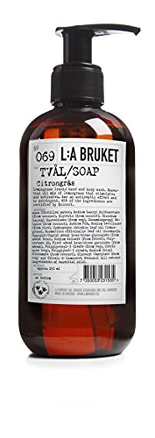 風味の量耐久L:a Bruket (ラ ブルケット) ハンド&ボディウォッシュ (レモングラス) 250g
