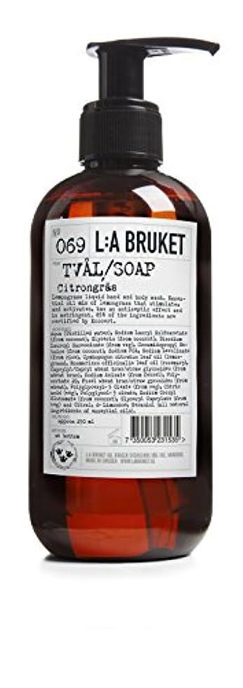 対応するファランクス動機L:a Bruket (ラ ブルケット) ハンド&ボディウォッシュ (レモングラス) 250g