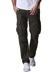 (マッチスティック)Matchstick カーゴパンツ メンズ 大きいサイズ カーゴ 作業ズボン 迷彩 ミリタリー ワークパンツ