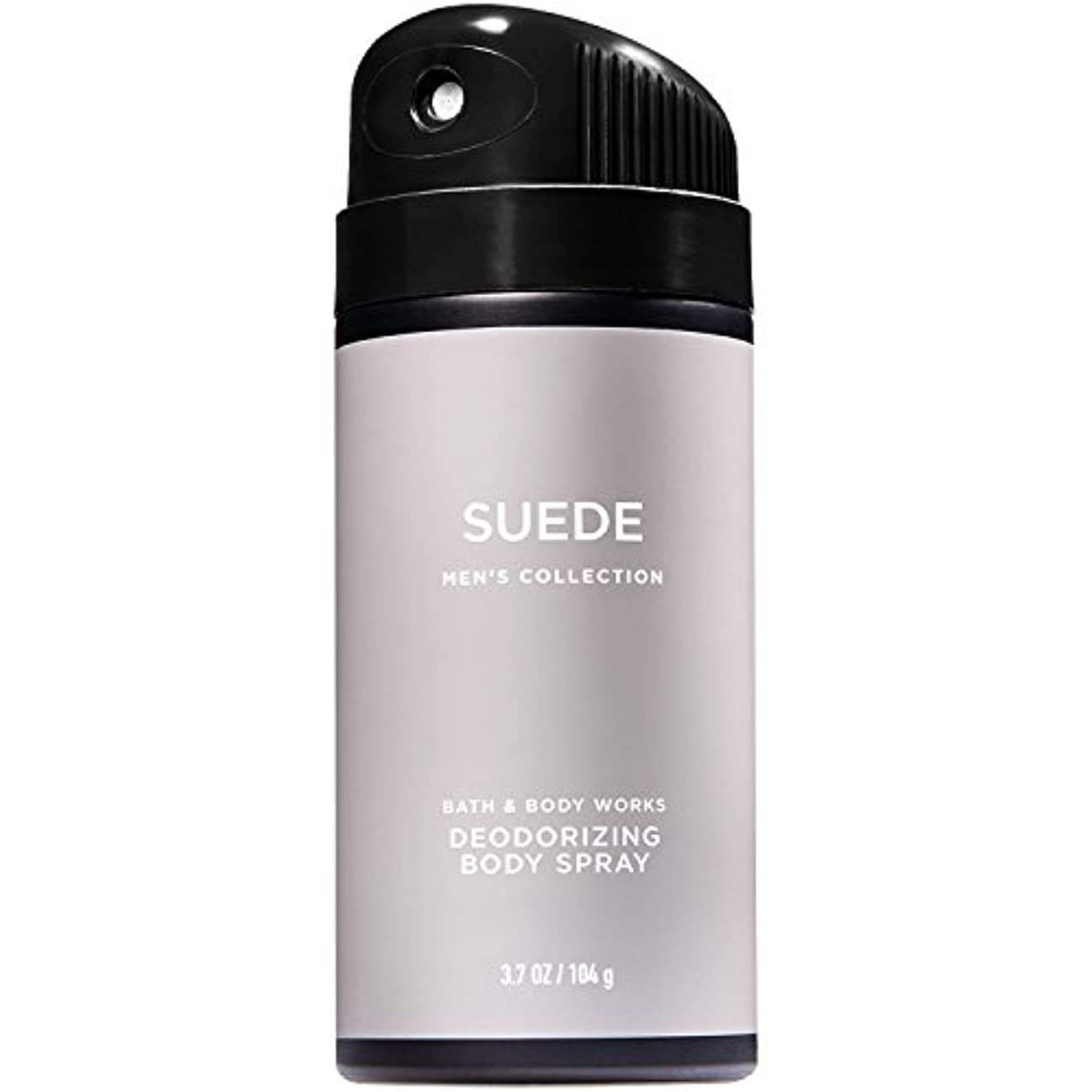 ダウンタウン社会全国【並行輸入品】Bath and Body Works Signature Collection for Men Suede Deodorizing Body Spray 104 g