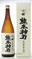 【日本酒】千代の園 熊本神力 吟醸 1800ml