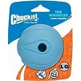 "Chuckit! Whistler Ball Large 3"" - 1pk, Assorted Orange & Blue"