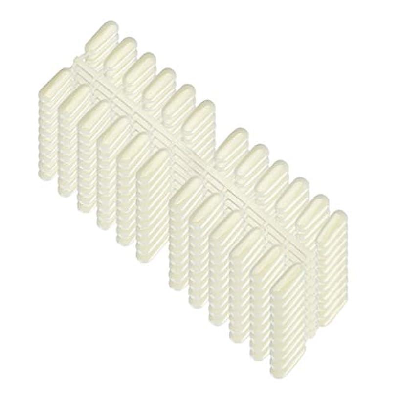 採用呼吸する展開する240ピース/ロットプロフェッショナルサロンネイルのヒントプラスチックポリッシュボードネイルアートディスプレイ練習チャートホルダーラック