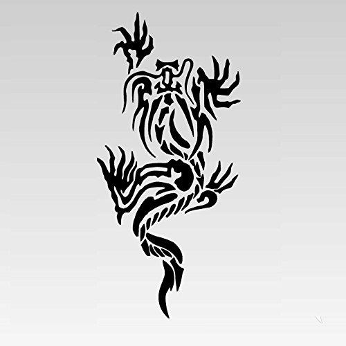 B'z◆稲葉浩志 稲龍 ステッカー◆刺青 タトゥー カッティング シール デカール No.124 (...