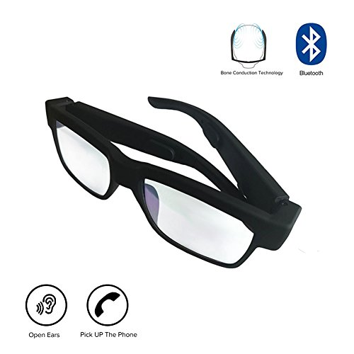 [해외]골전도 블루투스 이어폰 선글라스 핸즈프리 기능 탑재 헤드셋 고품질의 스테레오 무선 스포츠 이어폰 iOS | Android | PC 등 지원/Bone conduction Bluetooth earphone sunglasses Hands-free feature equipped headset High quality stereo wireles...