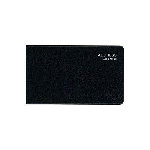 a138da8597c5 ダイゴー アドレス帳 太罫専科 太い罫線 手帳 ブラック F1072 太罫だから書きやすいコンパクトなアドレス 400名記入 80P  70X116X6mm ...
