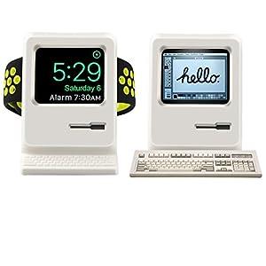 XRENG Apple Watch スタンド 充電 クレードル ドック,のために Apple Watch Series 2 / Apple Watch Series 1 (白)