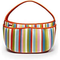 Built Baby Buddy Essentials Caddy, In Baby Pink Stripe by Built NY [並行輸入品]