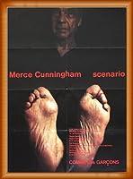 ポスター ティモシー グリーンフィールド=サンダース Merce Cunningham/Comme des Garcons川久保玲1997年 額装品 ウッドベーシックフレーム(オレンジ)