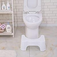 トイレ踏み台 安全補助 踏み台 子供 踏み台 洋式トイレ用 足置き台 トイレトレーニング 滑り止め付き 高さ約17cm(ホワイト)