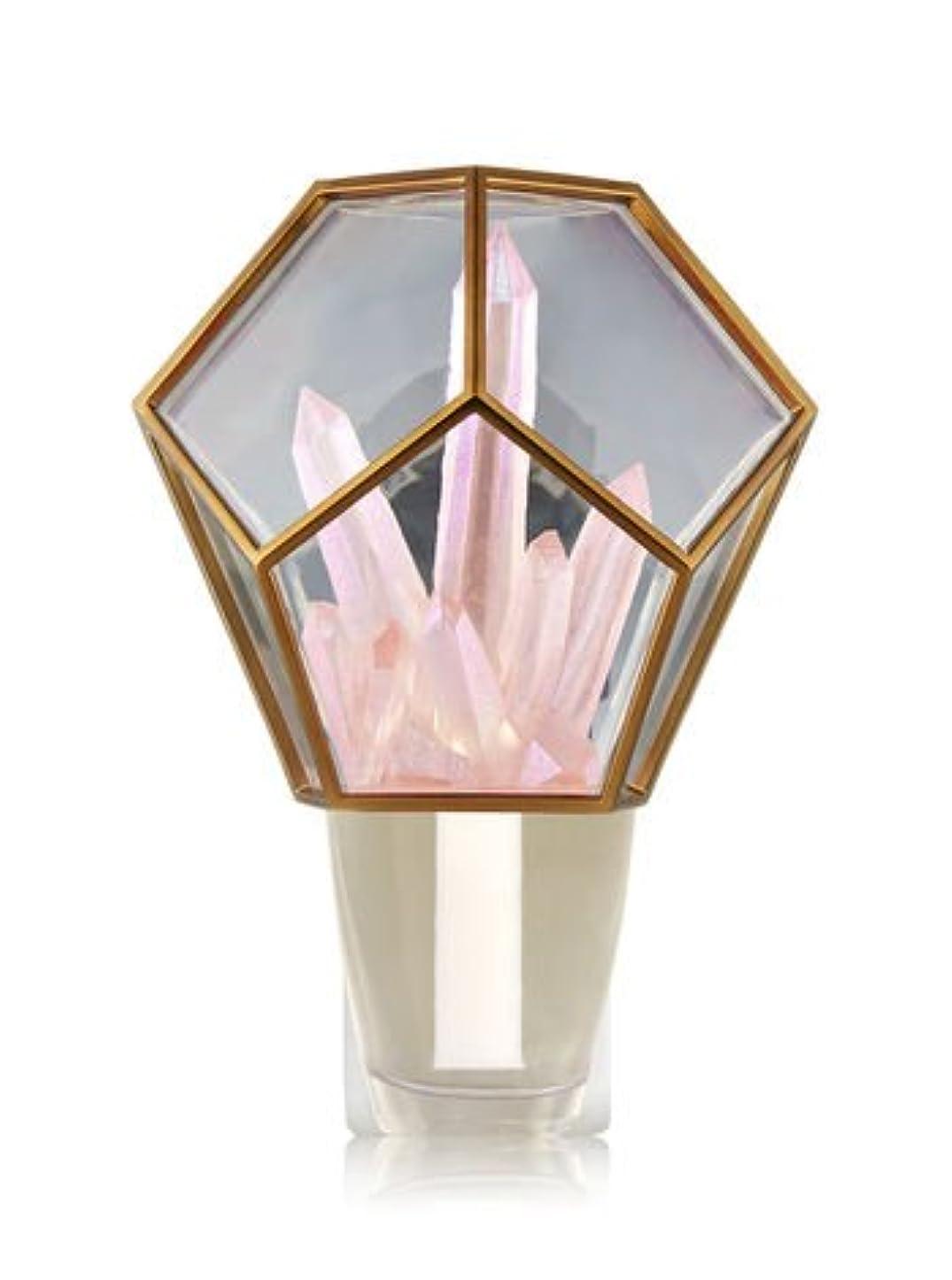 遡るますます代表【Bath&Body Works/バス&ボディワークス】 ルームフレグランス プラグインスターター (本体のみ) クリスタルテラリウムナイトライト Wallflowers Fragrance Crystal Terrarium...