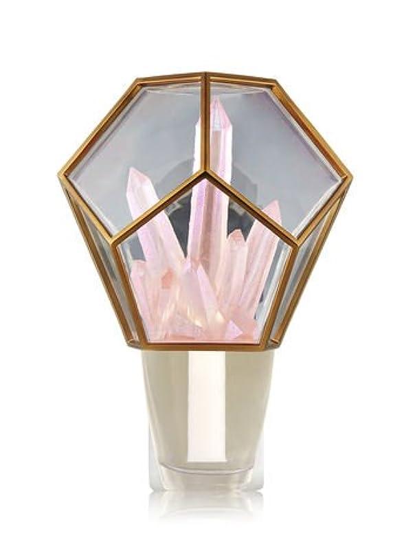 ソース地平線マイコン【Bath&Body Works/バス&ボディワークス】 ルームフレグランス プラグインスターター (本体のみ) クリスタルテラリウムナイトライト Wallflowers Fragrance Crystal Terrarium...