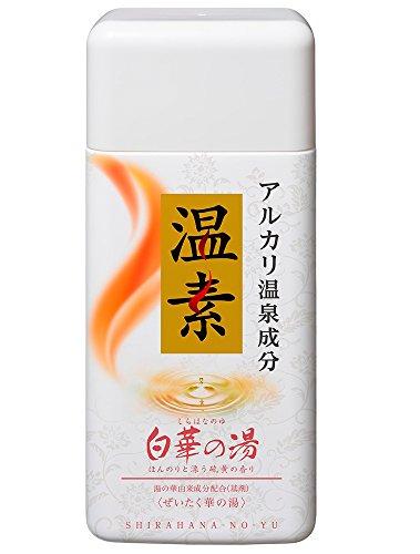 アース製薬 温素 入浴剤 白華の湯 600g [医薬部外品]
