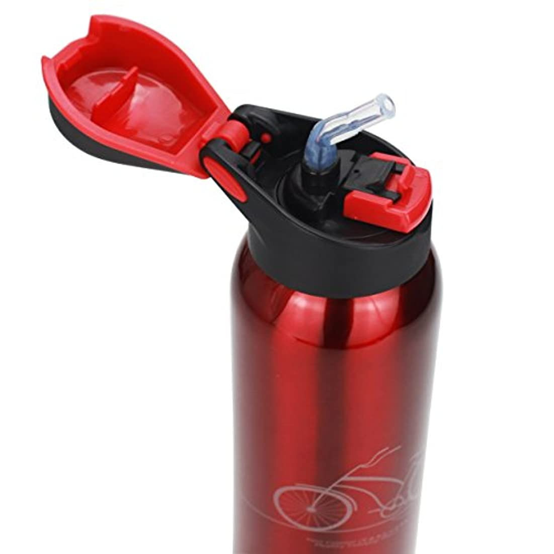 不明瞭農民ガロンstarrich真空断熱ステンレススチール旅行コーヒーマグ/水ボトル、片手開き、ドリンク、リークプルーフFlip Top Lid forジム、ヨガ、ランニング、アウトドア、サイクリング、キャンプ16oz