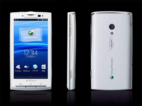 SONY docomo Xperia SO-01B 白ロム携帯