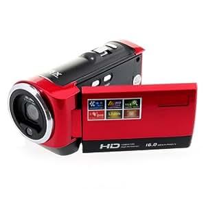 OFTENから出品 HD 1280 x 720 Anti-shakeデジタルビデオカメラ 16Xデジタルズーム サポーターSD/SDHCMax32GBメモリー
