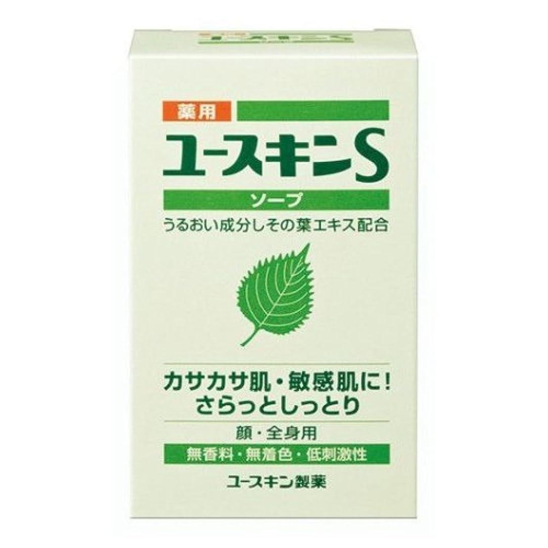 混合吹雪のり薬用ユースキンS ソープ 90g (敏感肌用 透明石鹸) 【医薬部外品】