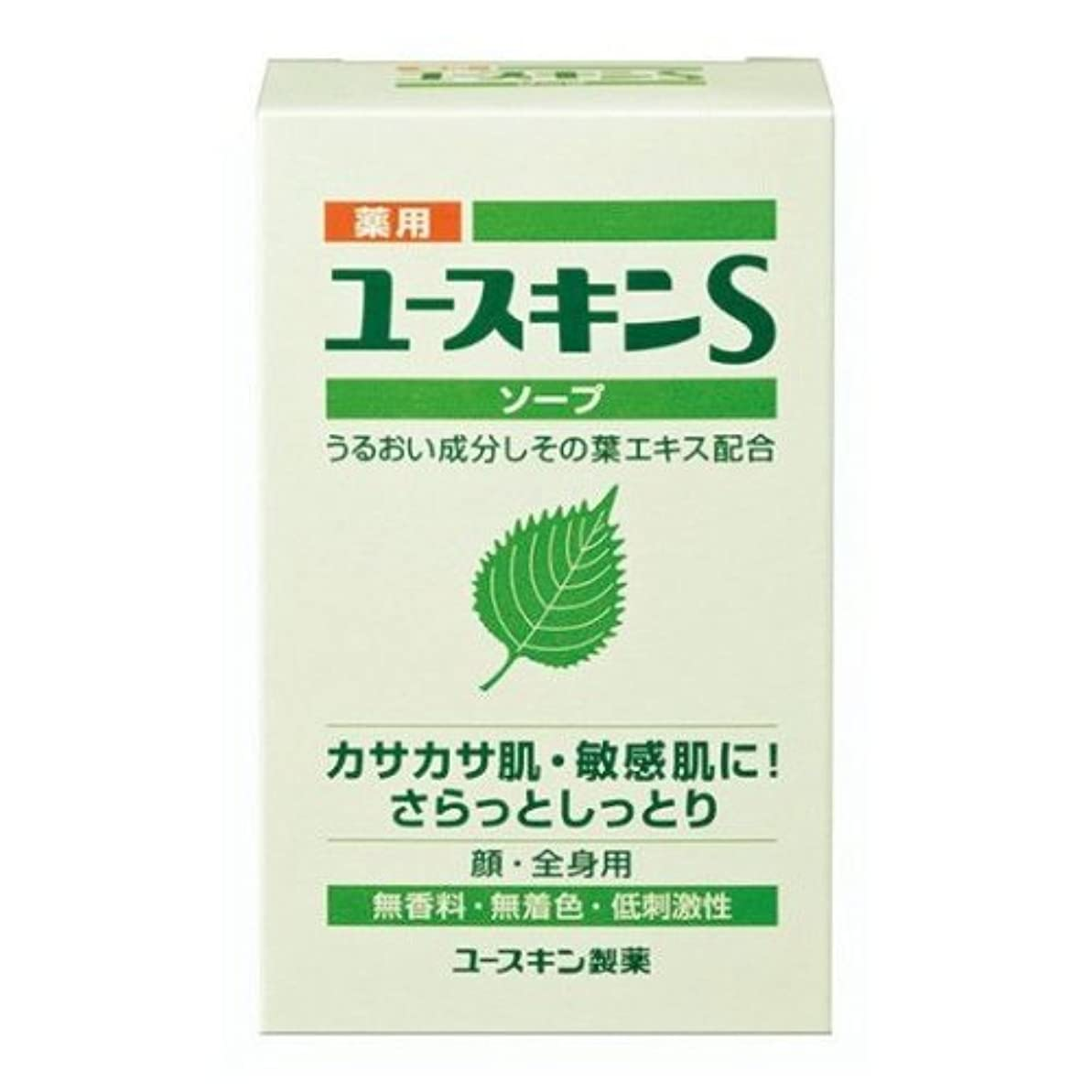 全く道徳入力ユースキン製薬 薬用ユースキンSソープ 90g(医薬部外品)