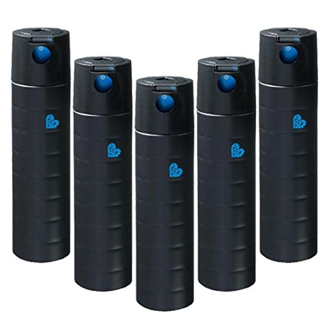 それら六限りなく【x5個セット】 アリミノ ピース フリーズキープspray ブラック 140g (200ml) スプレーライン
