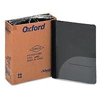 オックスフォード®クリアフロントレポートカバーwithポケットand CDスロットポートフォリオポリゴン、CLR FR、on ( of2)パック