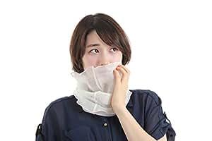 くーる&ほっと ぐんまシルクうるおいネックウォーマー 日本製 セリシンそのまま生絹使用 保湿用マスク