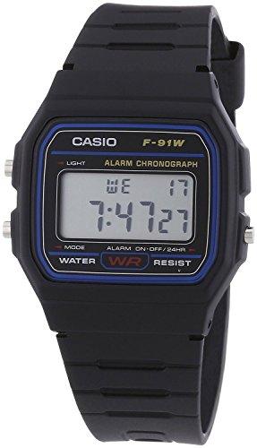 腕時計 スタンダード デジタル F-91W ブラック メンズ [逆輸入] カシオ