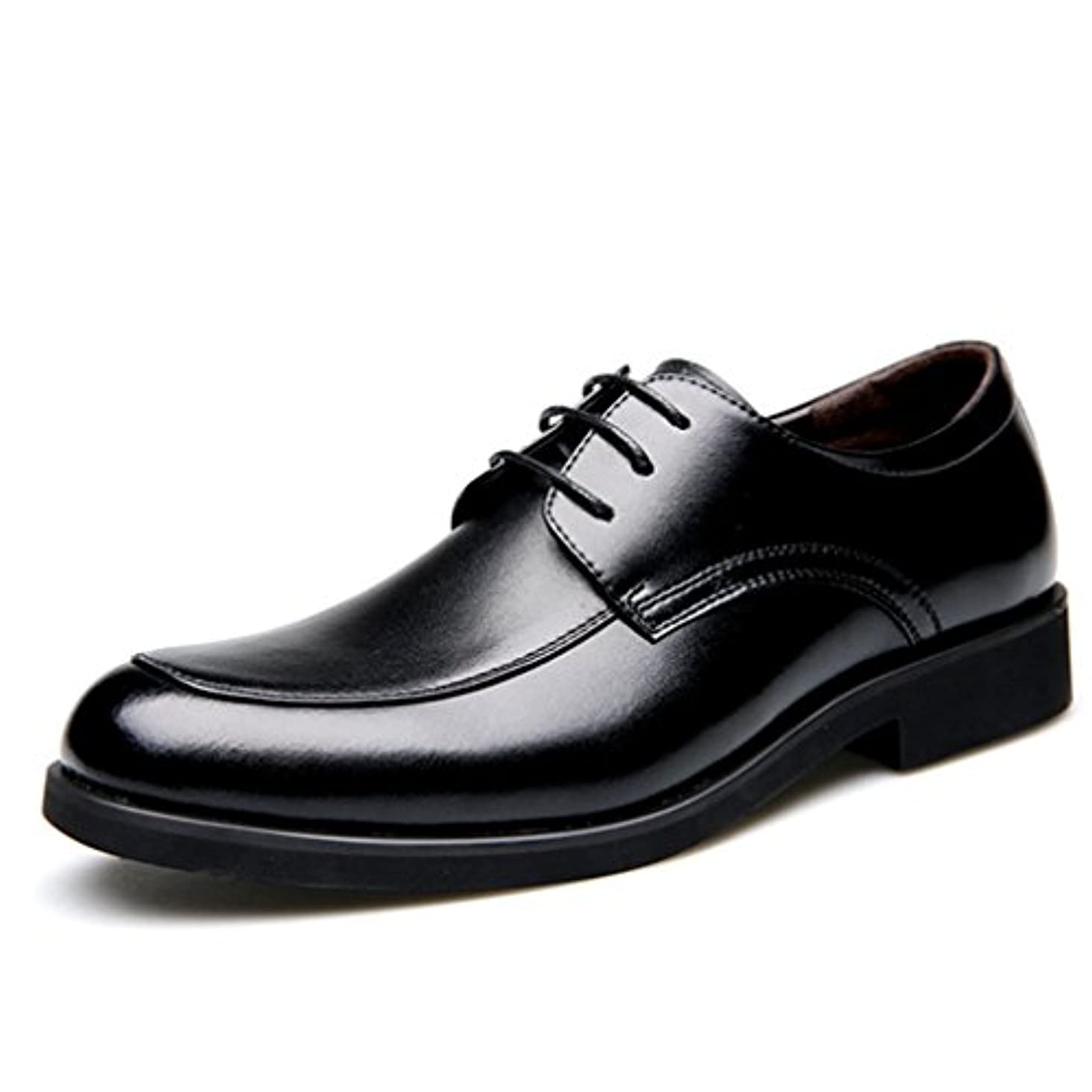 フリンジ絶えずハウジング[XINXIKEJI]ビジネスシューズ 紳士靴 メンズ 靴 高品質 革靴 就職面接 通勤 クラシック フォーマルドレス レースアップシューズ
