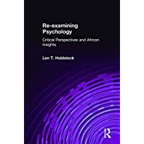 Re-examining Psychology: Critical Perspectives and African Insights