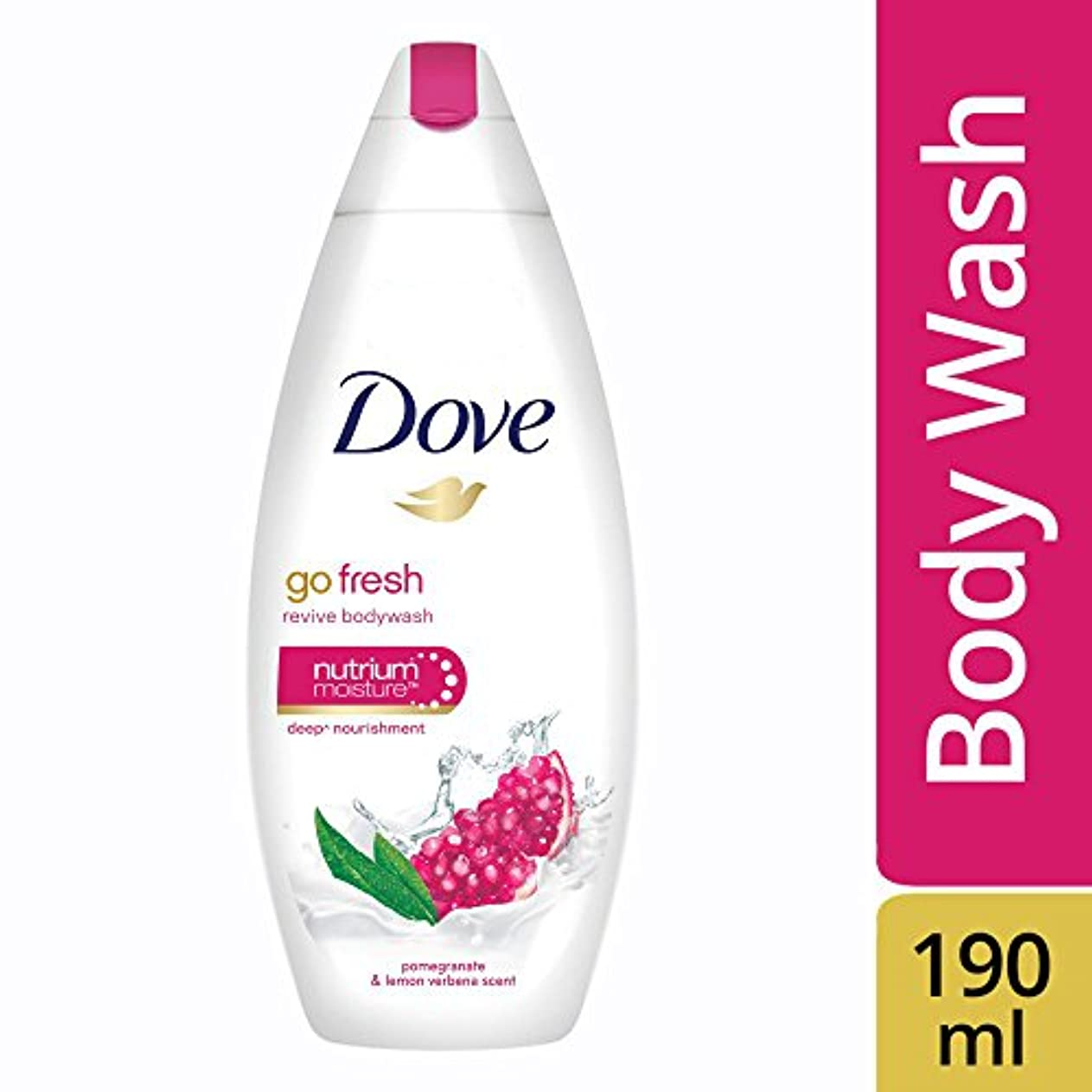 反映する虚偽戻すDove Go Fresh Revive Body Wash, 190ml