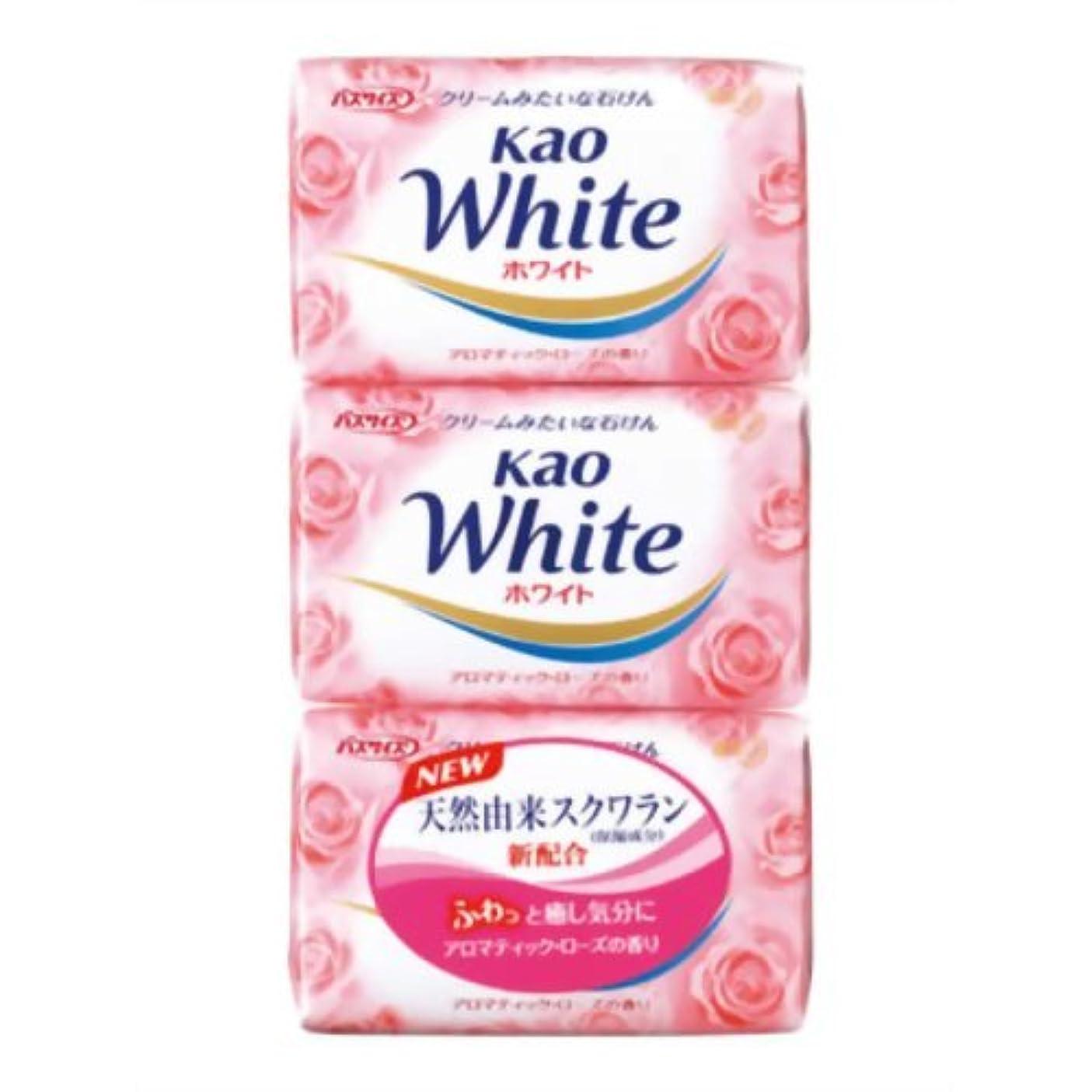然とした雲の中で花王ホワイト アロマティックローズの香り バスサイズ 130g*3個入