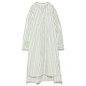 [スナイデル] オーバーサイズデザインシャツワンピース レディース SWFO184062 GRN 日本 F (FREE サイズ)