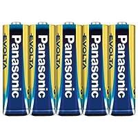 パナソニック アルカリ乾電池単3形 4本+1本パックPanasonic EVOLTA LR6EJSP/5H