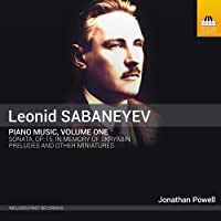 Sabanayev: Piano Music by Jonathan Powell