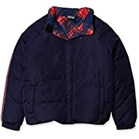 Tommy Hilfiger Girls' Adaptive Puffer Jacket with Magnetic Buttons, Ballerina-Print MD