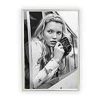 Aroma of Paris アートポスター おしゃれ インテリア 北欧 モノクロ アート #048 B2 シルバーフレーム