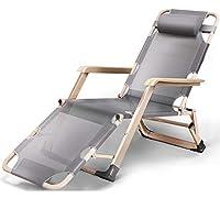 リクライニングチェア Deckchairs Sun ChairリクライニングビーチチェアGarden Lawn Patio春折りたたみチェアLounger 12 style (色 : 3, サイズ さいず : A)
