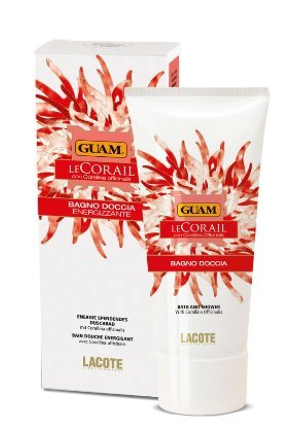 ベリー自然レイアウトGUAM Le Corail Shower Gel energizing 200 ml by Guam